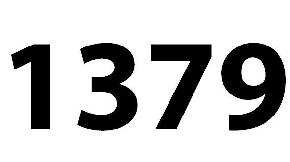 Zahl 1379