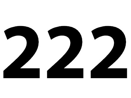 222 bedeutung
