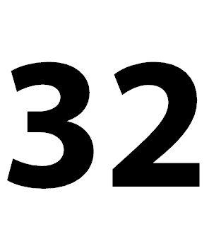 Die Zahl 32