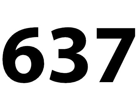 Zahl 637