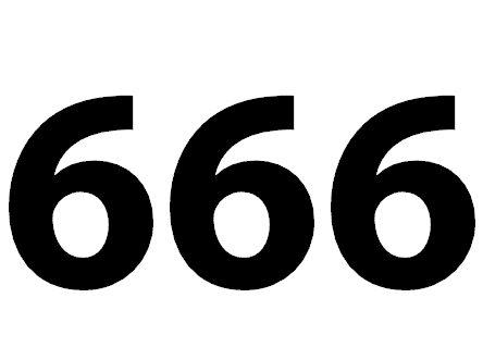 Zahl 666