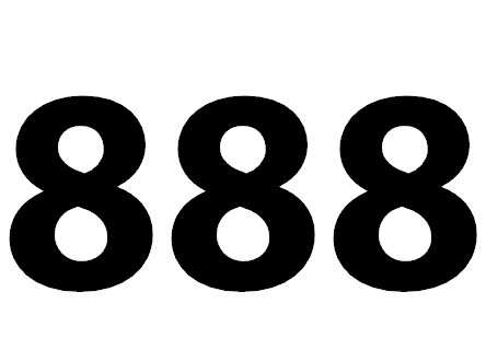 Zahl 888 Bedeutung